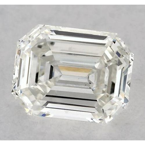 0.75 Carats Emerald Diamond Loose K Vs1 Very Good Cut Diamond