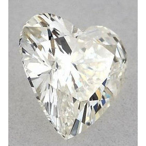 0.75 Carats Heart Diamond Loose H Vs2 Very Good Cut Diamond