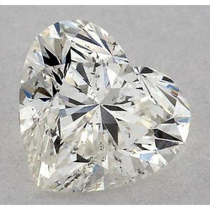 0.75 Carats Heart Diamond Loose H Vvs2 Very Good Cut Diamond