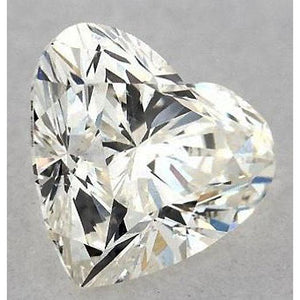 0.75 Carats Heart Diamond Loose I Si1 Good Cut Diamond