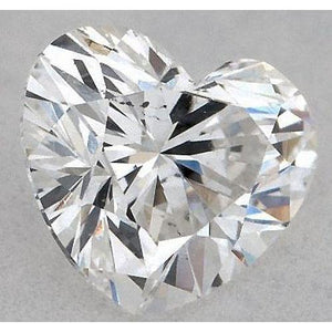 0.75 Carats Heart Diamond Loose J Vs2 Very Good Cut Diamond