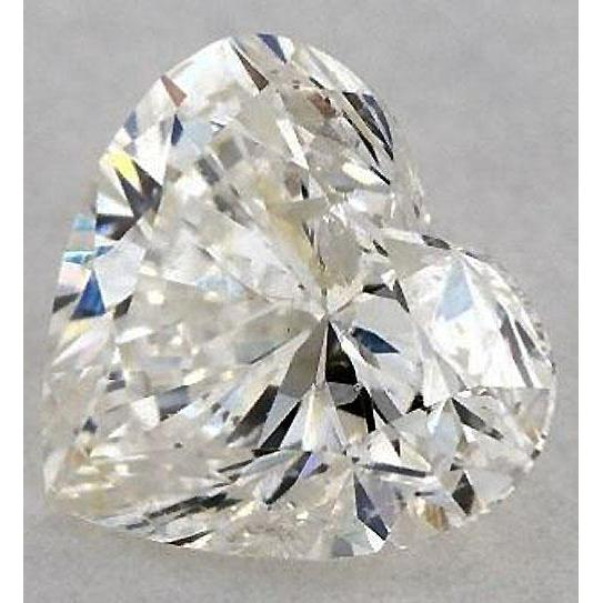 0.75 Carats Heart Diamond Loose K Si1 Good Cut Diamond