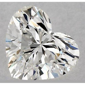 0.75 Carats Heart Diamond Loose K Vs2 Very Good Cut Diamond