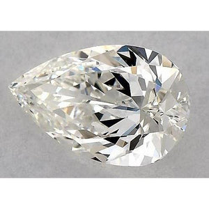 0.75 Carats Pear Diamond Loose F Vs1 Very Good Cut Diamond