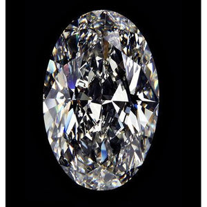 0.75 Ct H Si1 Diamond Oval Cut Loose Gem Stones Diamond
