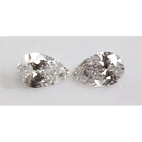 0.80 Carats Pear Cut Loose Diamonds Diamond