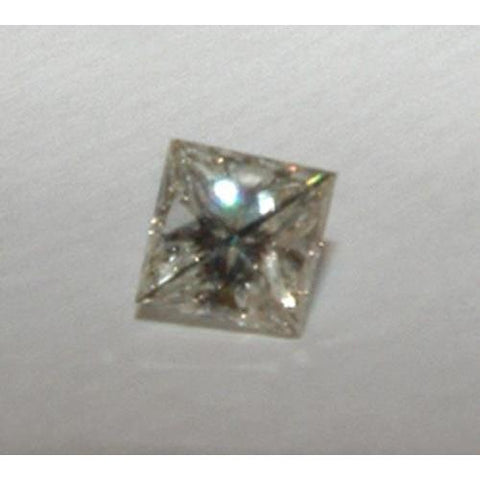 0.90 Carats Princess Cut Loose Diamond F Vs1 Diamond