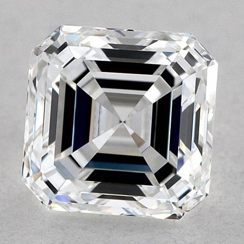 1 Carat Asscher Diamond Loose D Fl Very Good Cut Diamond