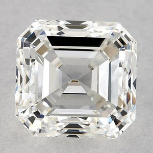 1 Carat Asscher Diamond Loose D Vvs1 Very Good Cut Diamond