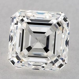 1 Carat Asscher Diamond Loose D VVS2 Very Good Cut Diamond