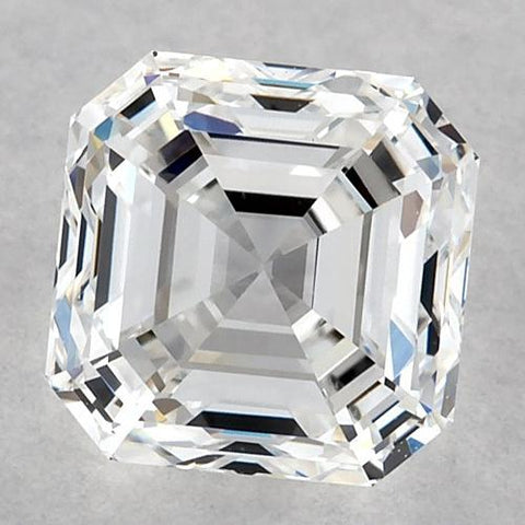 1 Carat Asscher Diamond Loose E Fl Very Good Cut Diamond