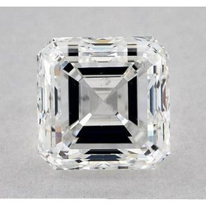 1 Carat Asscher Diamond Loose E Vs1 Very Good Cut Diamond