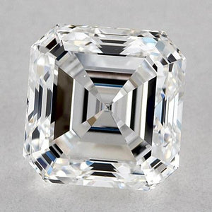1 Carat Asscher Diamond Loose E Vvs1 Very Good Cut Diamond