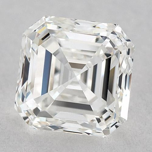 1 Carat Asscher Diamond Loose E Vvs2 Very Good Cut Diamond