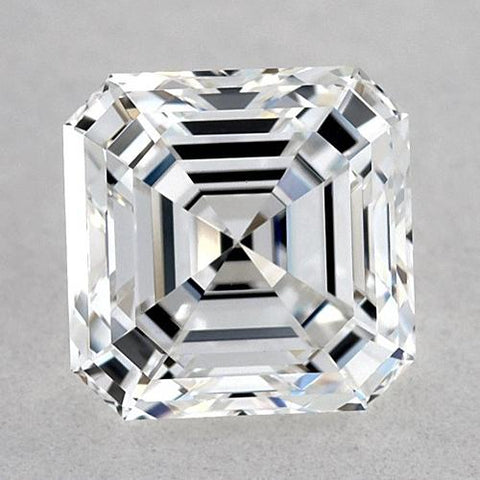 1 Carat Asscher Diamond Loose F Fl Very Good Cut Diamond