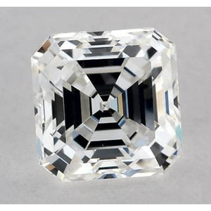 1 Carat Asscher Diamond Loose F VS1 Very Good Cut Diamond