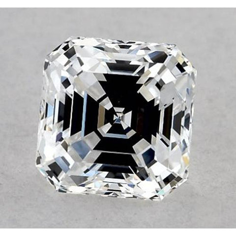 1 Carat Asscher Diamond Loose G VS1 Very Good Cut Diamond