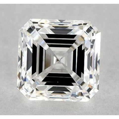1 Carat Asscher Diamond Loose G VVS1 Very Good Cut Diamond