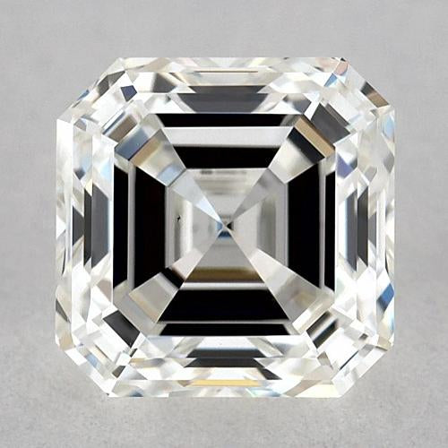 1 Carat Asscher Diamond Loose H Fl Very Good Cut Diamond