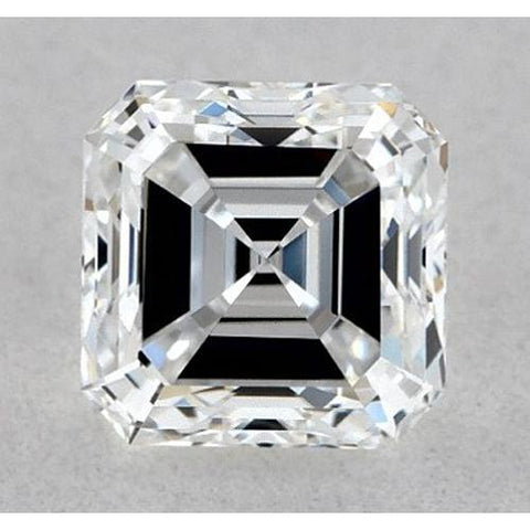 1 Carat Asscher Diamond Loose H VS1 Very Good Cut Diamond