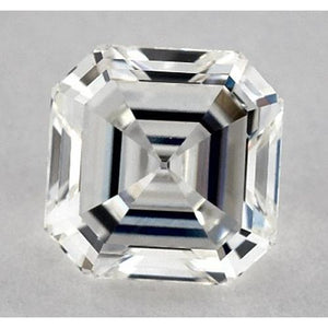 1 Carat Asscher Diamond Loose H Vvs1 Very Good Cut Diamond
