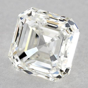 1 Carat Asscher Diamond Loose H VVS2 Very Good Cut Diamond