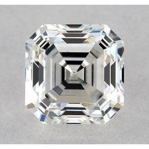 1 Carat Asscher Diamond Loose I VS1 Very Good Cut Diamond