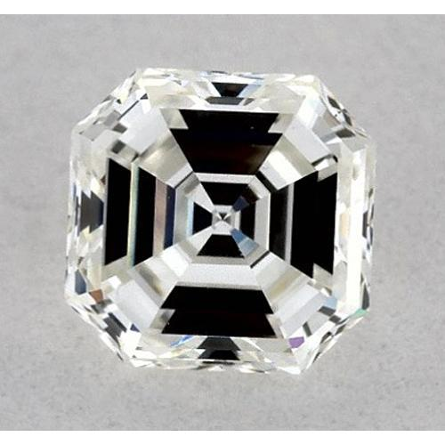 1 Carat Asscher Diamond Loose I VVS2 Very Good Cut Diamond