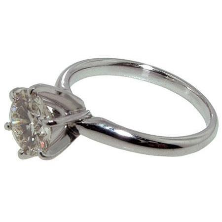 1 Carat Diamond Engagement Ring Solitaire Prong Setting Solitaire Ring