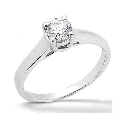 1 Carat Diamond Solitaire Engagement Ring Prong Style Solitaire Ring