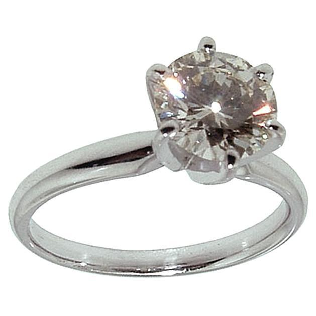 1 Carat F Si1 Diamond Solitaire Engagement Ring Solitaire Ring