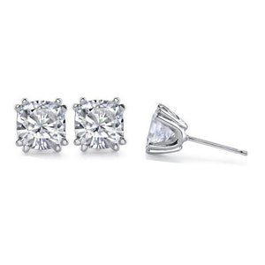 1 Carat G VS1 Diamond Earring Pair Cushion Cut Stud Earring Earrings