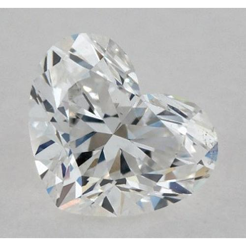 1 Carat Heart Diamond Loose F VS1 Very Good Cut Diamond