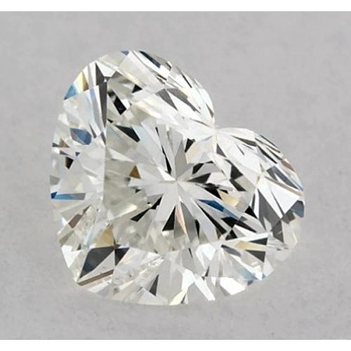 1 Carat Heart Diamond Loose H VVS2 Very Good Cut Diamond