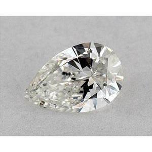 1 Carat Pear Diamond Loose E VS1 Very Good Cut Diamond