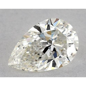 1 Carat Pear Diamond Loose E VS2 Very Good Cut Diamond