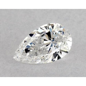 1 Carat Pear Diamond Loose F VS1 Very Good Cut Diamond