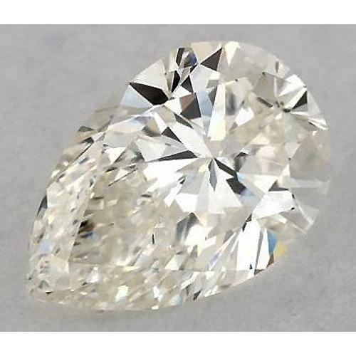 1 Carat Pear Diamond Loose K VS2 Very Good Cut Diamond