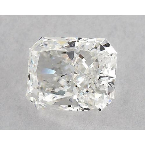 1 Carat Radiant Diamond Loose H VVS2 Very Good Cut Diamond