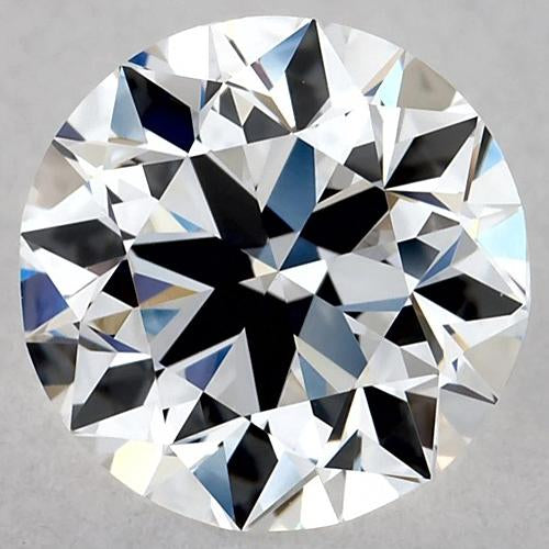 1 Carat Round Diamond D VS2 Excellent Cut Loose Diamond