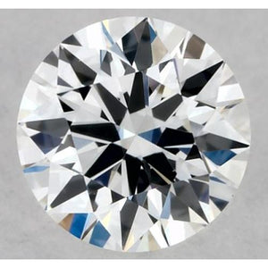 1 Carat Round Diamond F VVS2 Excellent Cut Loose Diamond