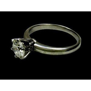 1.01 Ct F Vs1 Diamond Solitaire Ring Jewelry Solitaire Ring
