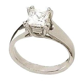 1.01 Ct Princess Cut Diamond Ring High Brilliance Ring