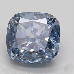 1.1 Ct Intense Blue Cushion Cut Loose Diamond Diamond