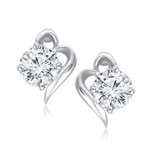 1.1 Ct Round Cut Solitaire Diamond Stud Earring Stud Earrings