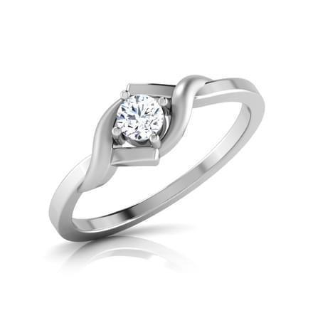 1.10 Ct Round Brilliant Cut Solitaire Diamond Anniversary Ring Solitaire Ring
