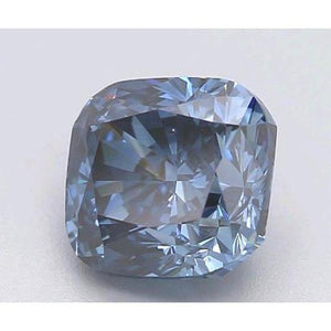 1.2 Ct Intense Blue Cushion Cut Loose Diamond Diamond