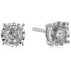 1.2 Ct Round Solitaire Diamond Stud Earring Gold Jewelry Stud Earrings