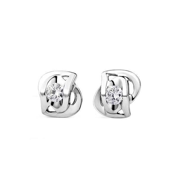 1.20 Ct Diamond Stud Earrings White Gold Stud Earrings