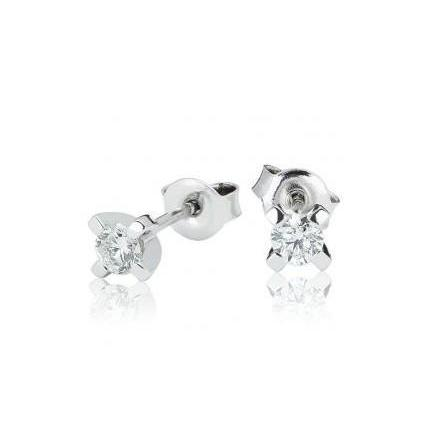 1.20 Ct F Vs1 Brilliant Cut Diamonds Women Studs Earring White Gold Stud Earrings